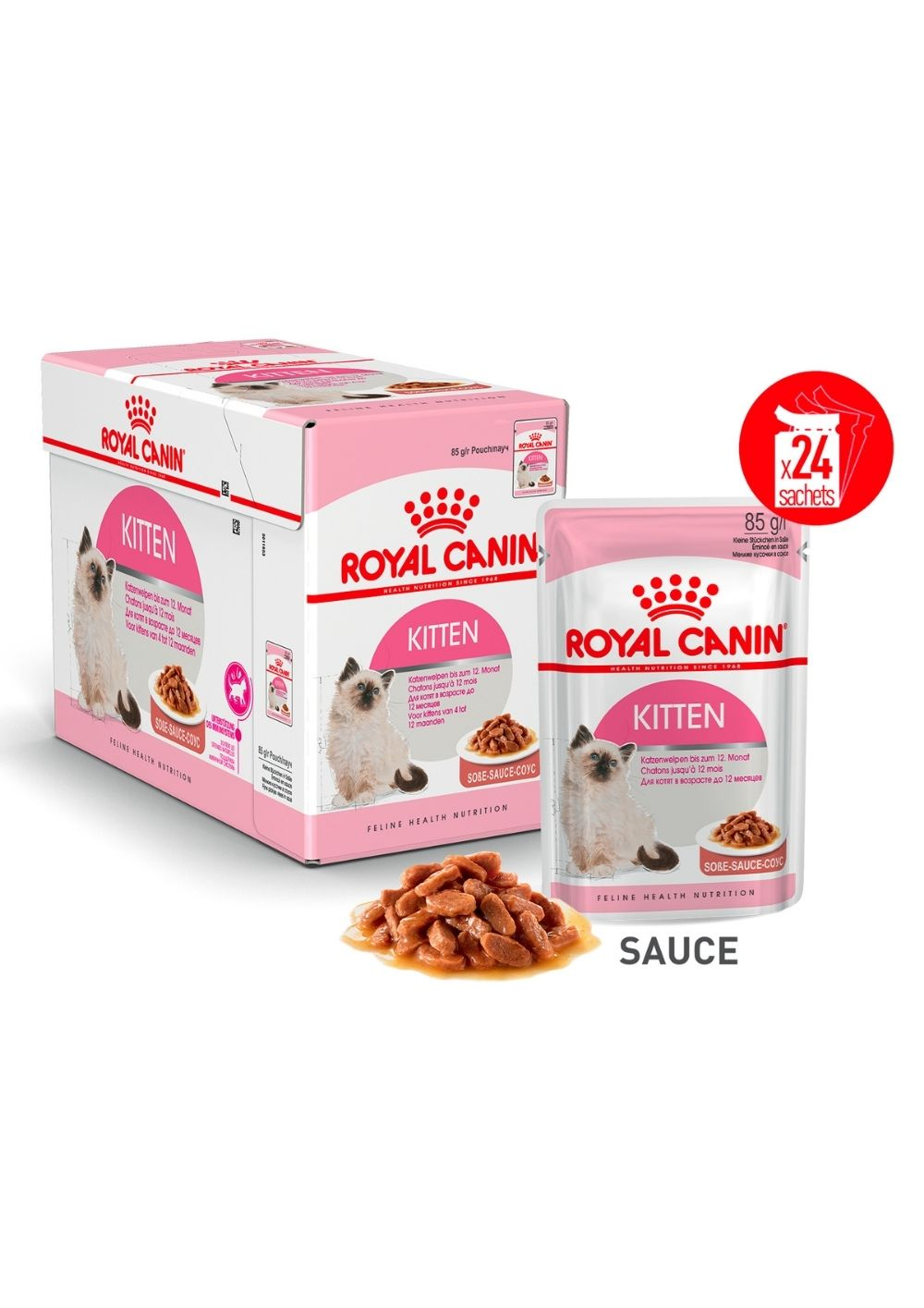 Kitten en Sauce x24 product image