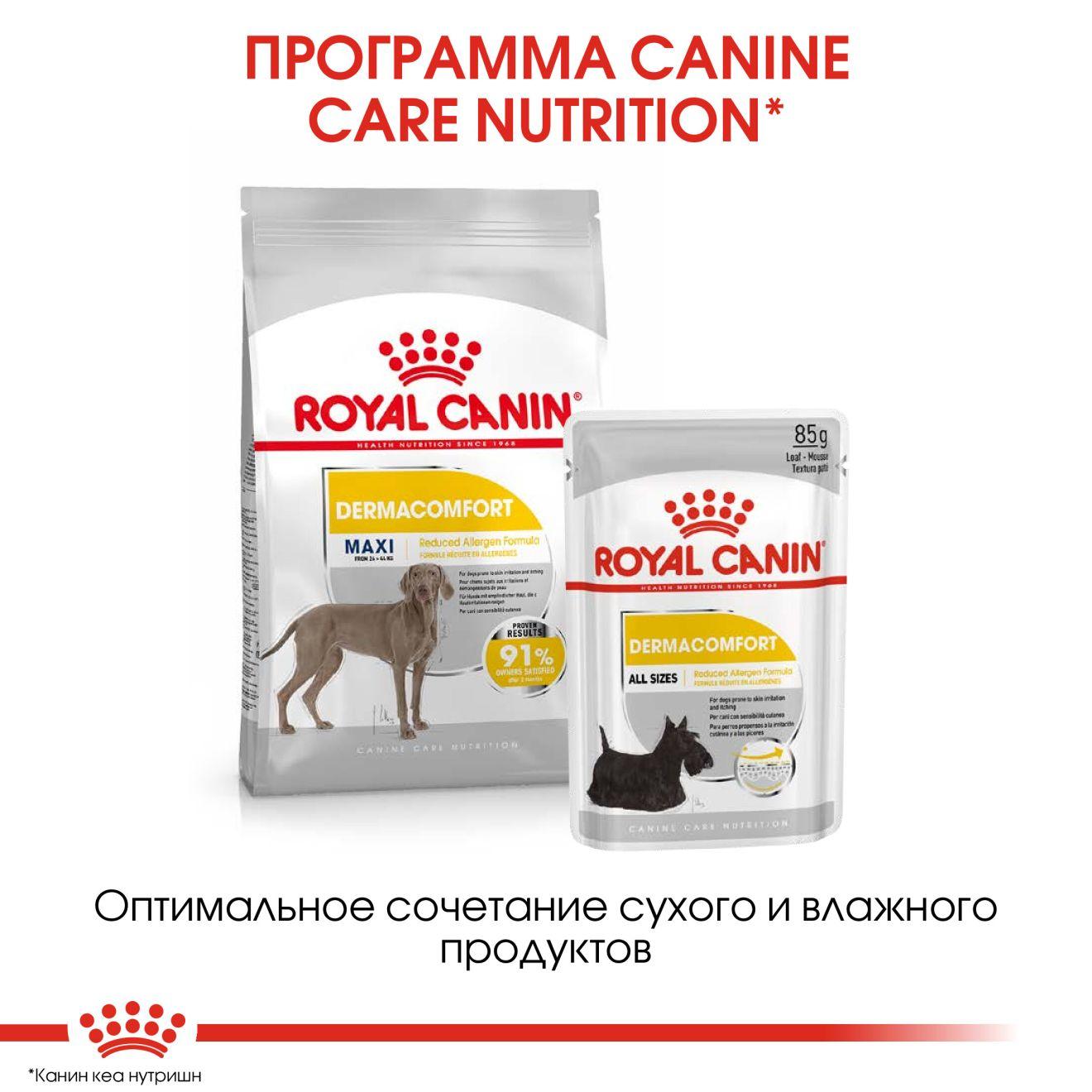 Dermacomfort Canine Adult (в паштете)